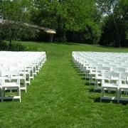 White Chairs Kenosha