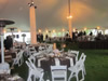 Table Chair Tent Setup