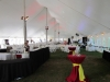 Inside tent decor