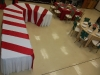 Candy Cane Table, Christmas Theme