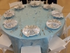 Winter Blue Table Linen