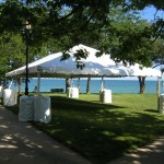 20' Wide,frame tent, tent with no center pole, white canopy, party tent