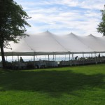 40' Wide,large party tent, wedding tent, white tent, picnic tent