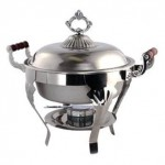 Round Chafer, 5 qt., food warmer