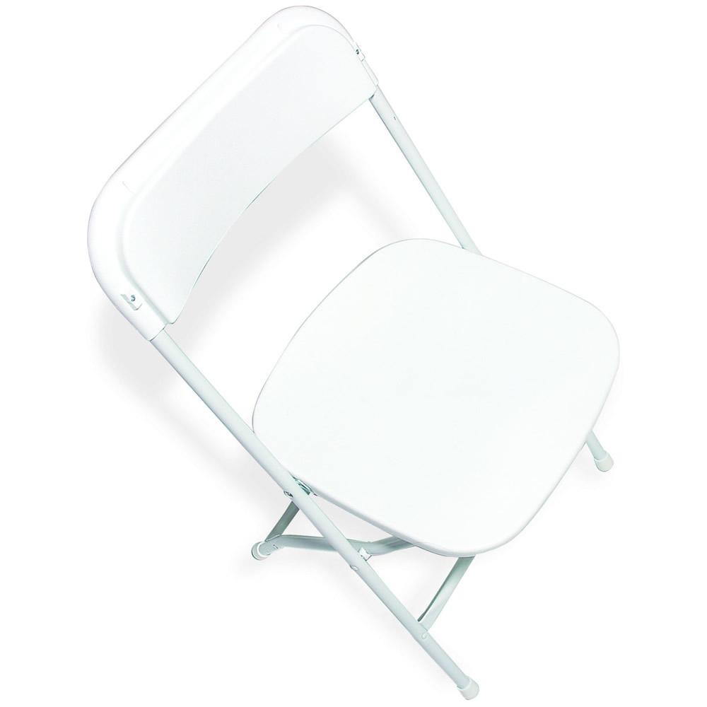 White Plastic - Outdoor, white wedding, outdoor wedding chair
