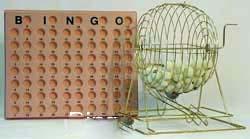 Bingo Cage & Balls