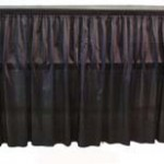 6' Skirted Bar, portable bar