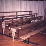Bleachers, portable bleachers