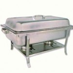 "Chafer, 12"" x 20"", food warmer"