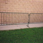 Crowd Control Fence, portable fence, barricade, event fence, temporary fence, bike fence