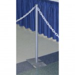 Expo Stanchion, crowd control, upright, uprite