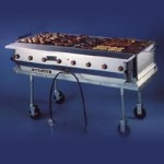 Gas Grill (2' x 5')