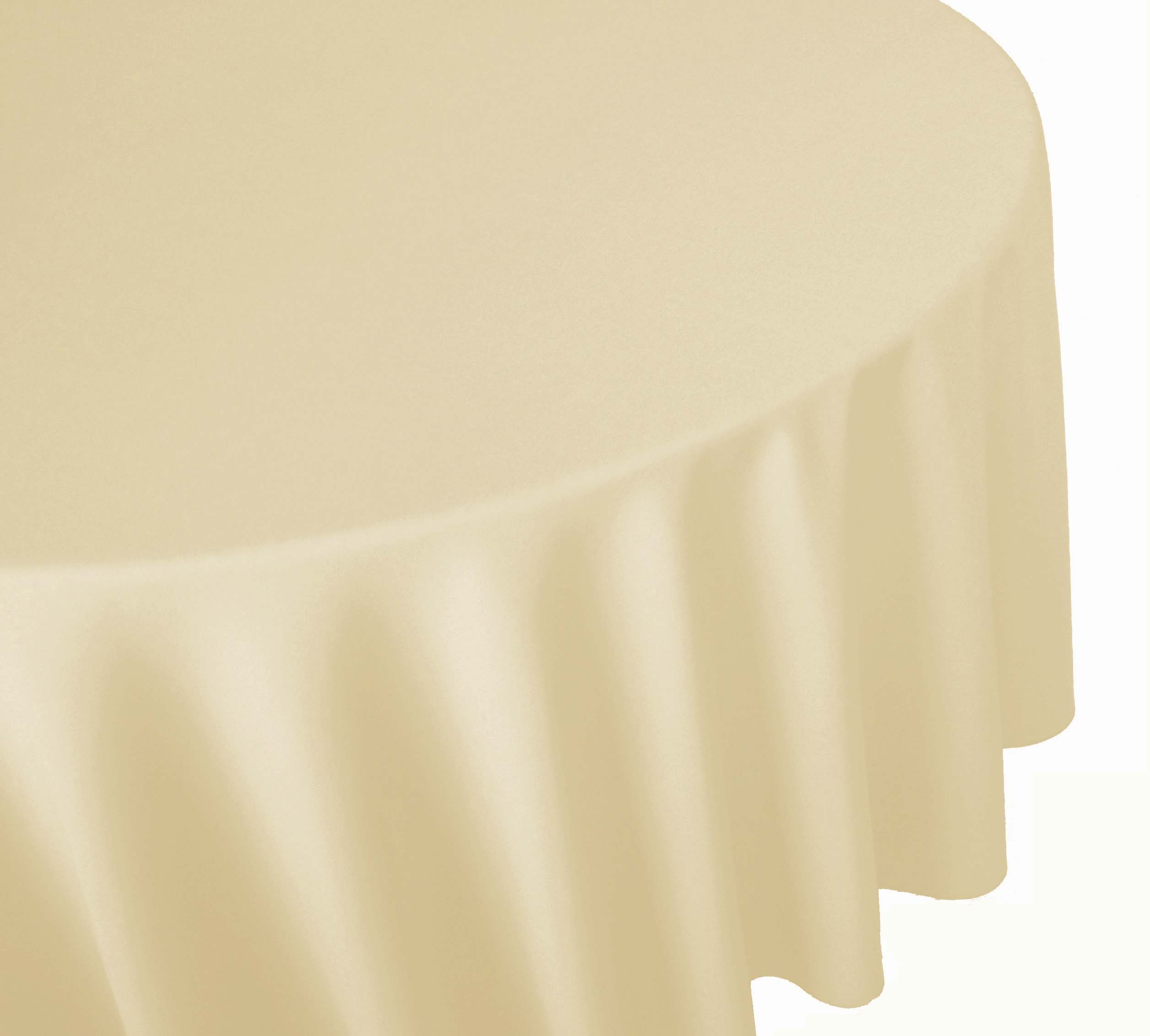 Ivory linen table cover table cloth banquet linen round linen