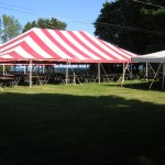 Striped Tents, carnival tent, fair tent, party tent, pole tent, canopy