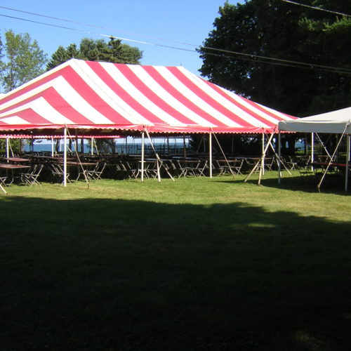 Striped Tents