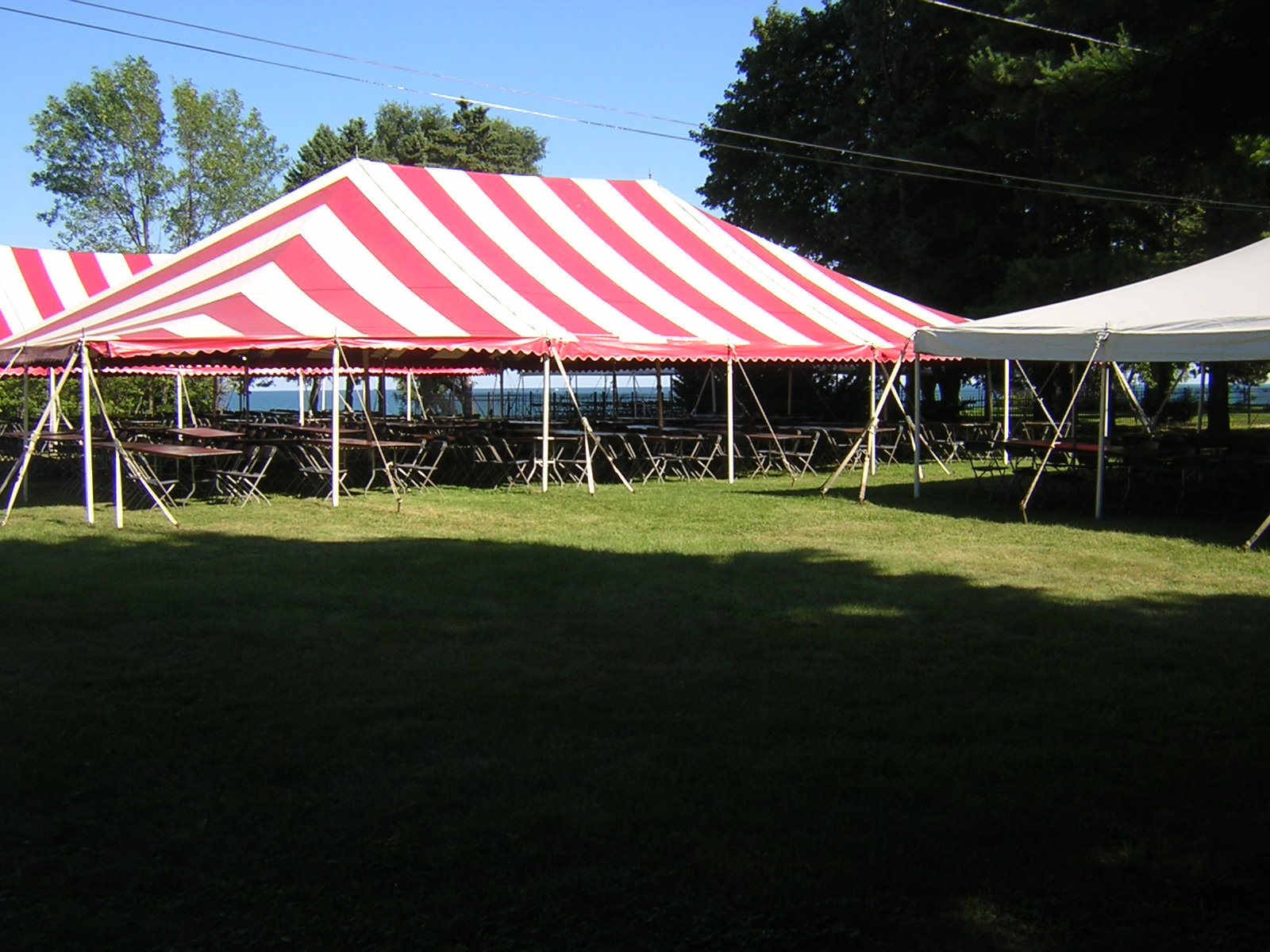 Striped Tents & Tenting | General Rental